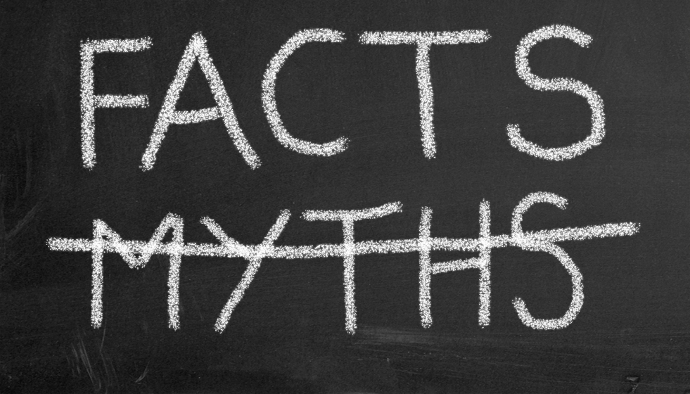 facts vs myths about credit scores